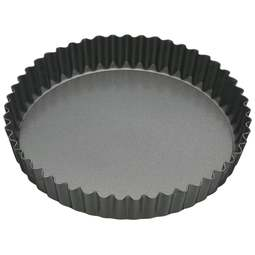 "View the 10"" / 25cm medium flan / quiche tin - loose base online at Cake Stuff"