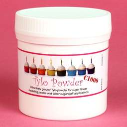 View the 100g C1000 Superfine Tylo / Tylose / Tylopur  powder CMC online at Cake Stuff