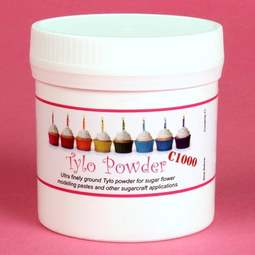 View the 75g C1000 Superfine Tylo / Tylose / Tylopur powder CMC online at Cake Stuff