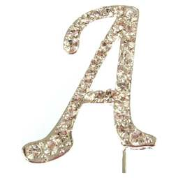 View the A - diamante cake / cupcake pick online at Cake Stuff