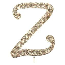 View the Z - diamante cake / cupcake pick online at Cake Stuff