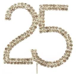 View the 25 - diamante cake / cupcake pick online at Cake Stuff