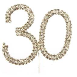 View the 30 - diamante cake / cupcake pick online at Cake Stuff