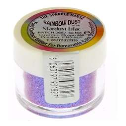 View the LILAC STARDUST sparkle food contact glitter 5g online at Cake Stuff