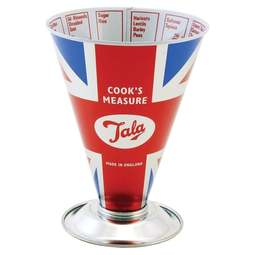 View the Union Jack traditional Cook's Dry Measure beaker online at Cake Stuff