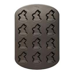View the 12 cavity Easter Bunny mini non stick whoopie pie cake baking pan mould online at Cake Stuff