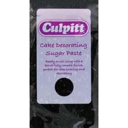 View the 250g BLACK Cake Decorating Sugar Paste ready to roll icing online at Cake Stuff