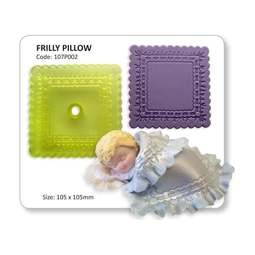 View the Frilly Pillow / Blanket fondant icing cutter online at Cake Stuff