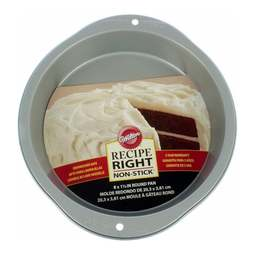 """View the **CLEARANCE** Recipe Right 8"""" / 20cm round non-stick cake tin online at Cake Stuff"""