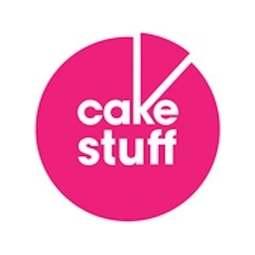 View the Scottish tartan cupcake cotton tea towel - pink online at Cake Stuff