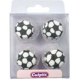 View the pk 12 FOOTBALL edible icing pipings cake cupcake decorations online at Cake Stuff