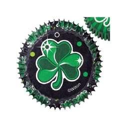 View the St Patrick's Day Shamrock cupcake standard baking cases - pk 75 online at Cake Stuff