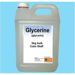 View the 6kg / 5 litres GLYCERINE Glycerin - purest grade online at Cake Stuff