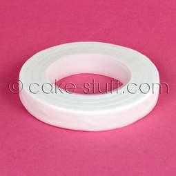 View the WHITE 12mm sugarcraft florist stem tape 27m online at Cake Stuff