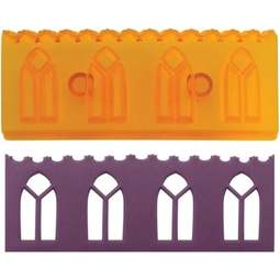 View the Window Border fondant icing & gumpaste cutter online at Cake Stuff