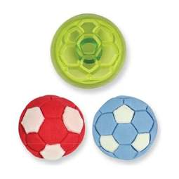 View the Football / Sports Ball fondant icing & gumpaste cutter online at Cake Stuff