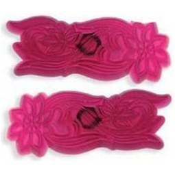 View the 2 pc Daisy cutwork embroidery icing cutter set online at Cake Stuff