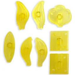 View the Small Cymbidium Orchid 8 pc fondant icing gum paste cutter set online at Cake Stuff