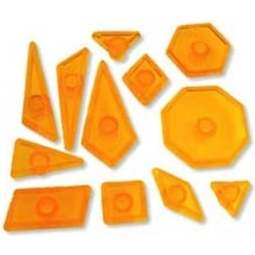 View the Geometric Shapes 12 pc fondant icing cutter set online at Cake Stuff