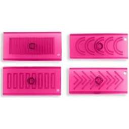 View the Creative Borders 4 pc cake side icing cutter set online at Cake Stuff