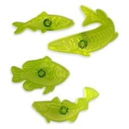 View the Fabulous Fish angling / fishing 4 pc icing cutter set online at Cake Stuff