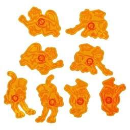 View the Marvellous Monkeys 8 pc fondant icing cutter set online at Cake Stuff