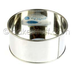 "View the 6"" / 152mm round professional cake tin online at Cake Stuff"