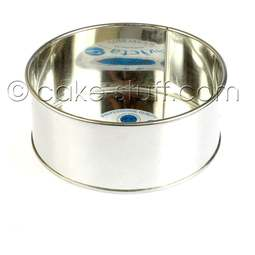 "View the 7"" / 178mm round professional cake tin online at Cake Stuff"