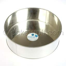 """View the 14"""" / 355mm EXTRA DEEP round professional cake tin online at Cake Stuff"""