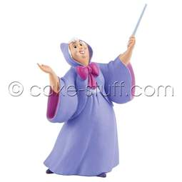 View the Fairy Godmother Disney Cinderella cake topper decoration online at Cake Stuff