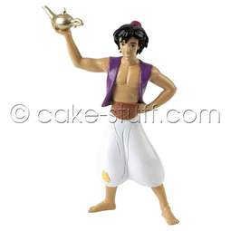View the Aladdin with Lamp Disney cake topper decoration online at Cake Stuff