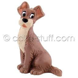 View the Tramp dog Disney cake topper decoration online at Cake Stuff