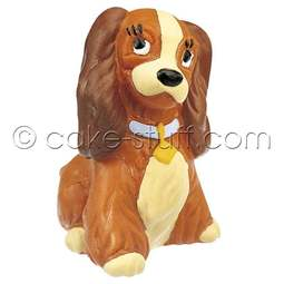 View the Lady dog Disney cake topper decoration online at Cake Stuff
