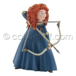 View the Merida the Archer from Brave Disney cake topper decoration online at Cake Stuff