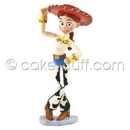 View the Jessie - Toy Story Disney cake topper decoration online at Cake Stuff