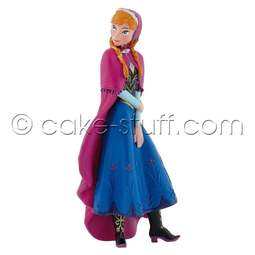 View the Anna - Disney Frozen cake topper decoration online at Cake Stuff