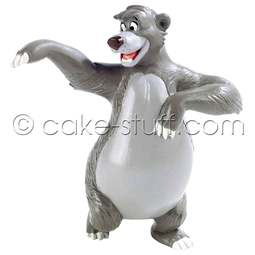 View the Baloo the Bear - Jungle Book Disney cake topper decoration online at Cake Stuff
