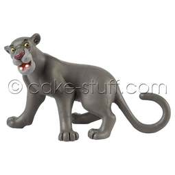 View the Bagheera the Panther - Jungle Book Disney cake topper decoration online at Cake Stuff