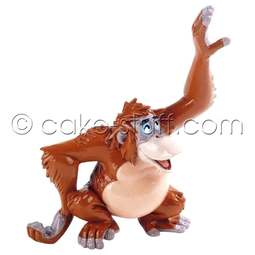 View the King Louie - Jungle Book Disney cake topper decoration online at Cake Stuff
