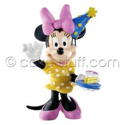 View the Minnie Mouse Celebration - Disney cake topper decoration online at Cake Stuff