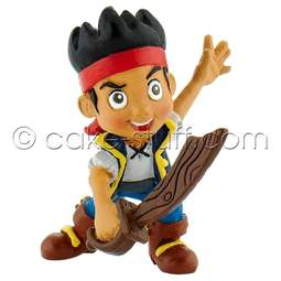 View the Jake with sabre - Jake & the Neverland Pirates Disney cake topper decoration online at Cake Stuff