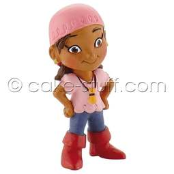 View the Izzy - Jake & the Neverland Pirates Disney cake topper decoration online at Cake Stuff