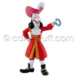 View the Captain Hook - Jake & the Neverland Pirates Disney cake topper decoration online at Cake Stuff