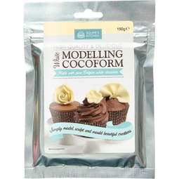View the 150g WHITE COCOFORM chocolate modelling paste online at Cake Stuff