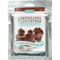 View the 150g MILK COCOFORM chocolate modelling paste online at Cake Stuff