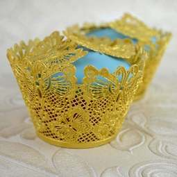 View the BUTTERFLY WRAPPERS cake / edible lace silicone cupcake mat online at Cake Stuff