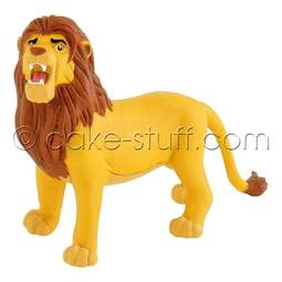 View the adult Simba - Disney Lion King cake topper decoration online at Cake Stuff