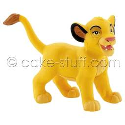 View the young Simba - Disney Lion King cake topper decoration online at Cake Stuff