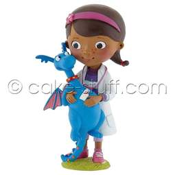 View the Doc & Stuffy - Disney Doc McStuffins cake topper decoration online at Cake Stuff