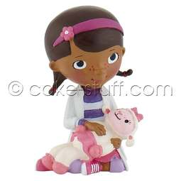 View the Doc & Lambie - Disney Doc McStuffins cake topper decoration online at Cake Stuff